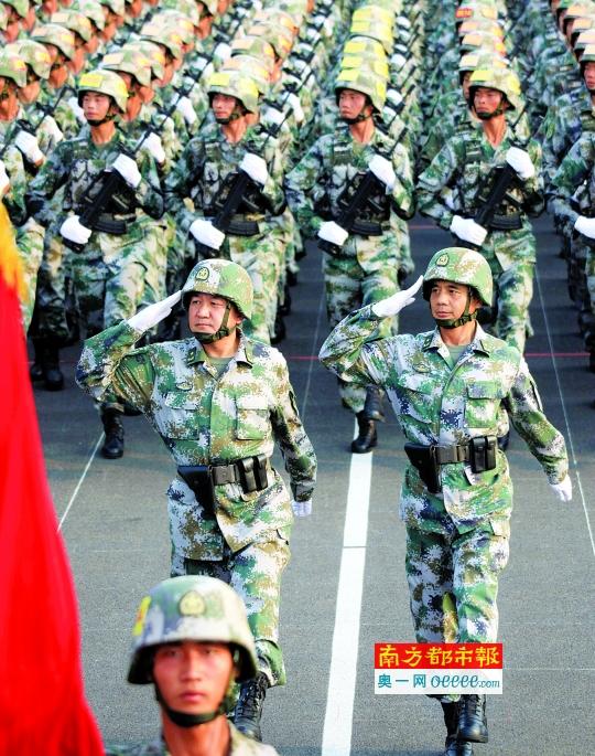 2015阅兵56名将军领队官方已披露45人名单