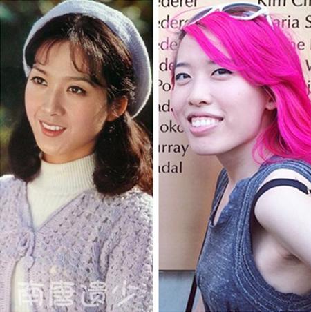原来80年代美女演员的女儿长这样,有的貌美如花,有的丑成猪扒
