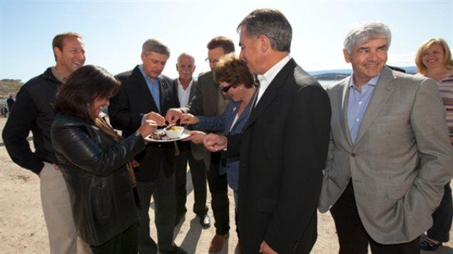 哈珀和部长们真吃海豹肉了吗?