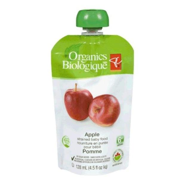 pc organics baby food recall