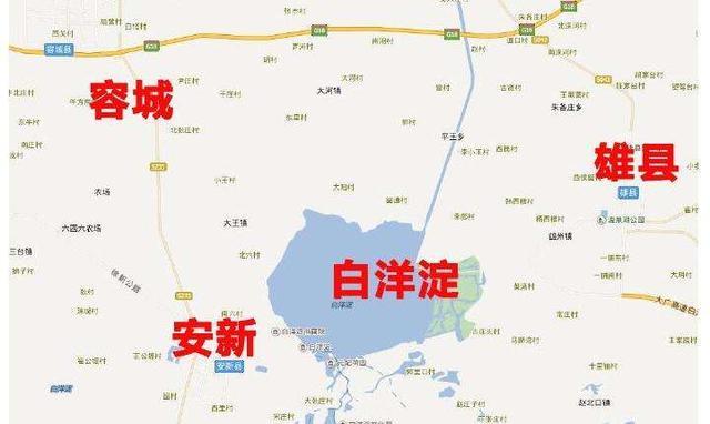 雄安新区容县、雄县、安新县三县组图 雄安新区将是大都市