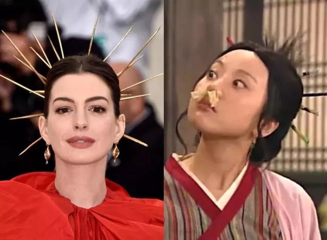 Met Gala 有多精彩?看天使跪地,维密乱窜,海瑟薇穿成佟湘玉!